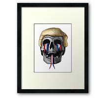 Donald Trump Skull Framed Print