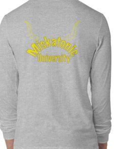 Miskatonic University Zip-up Hoodie Long Sleeve T-Shirt