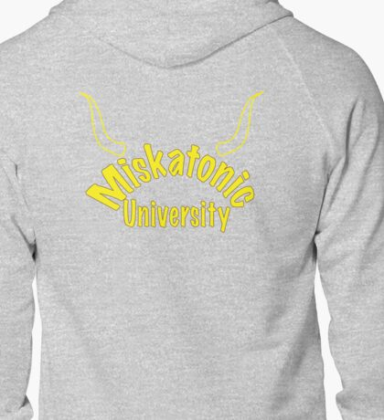 Miskatonic University Zip-up Hoodie Zipped Hoodie
