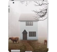 Country House In Mist iPad Case/Skin