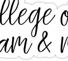 College of William & Mary Sticker