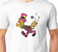 Mad Hatter Tripping The Light Fantastic Unisex T-Shirt