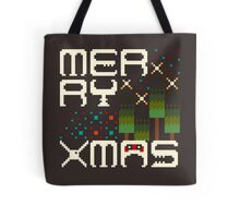 Merry 8bit Christmas Tote Bag