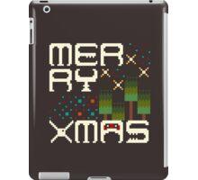 Merry 8bit Christmas iPad Case/Skin