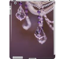 crystal Chandelier close to iPad Case/Skin