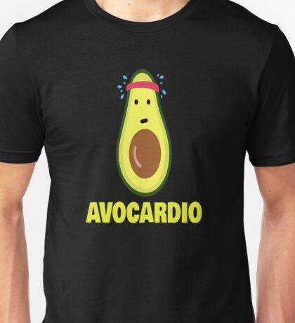Avocardio shirt Avocado workout health Unisex T-Shirt