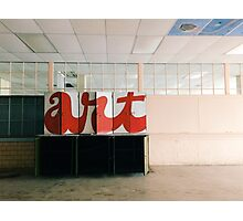 Art Class Photographic Print