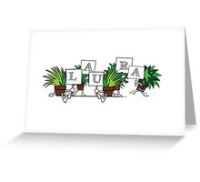 Plant Poses - Laura Greeting Card