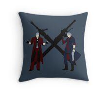 Dante & Nero Throw Pillow