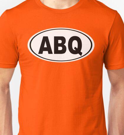 Albuquerque New Mexico Oval ABQ Unisex T-Shirt