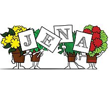 Plant Poses - Jena by havpencil