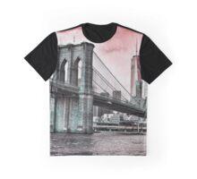 BROOKLYN BRIDGE TO MANHATTAN Graphic T-Shirt