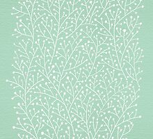 Mint Berry Branches by Cat Coquillette