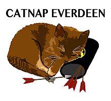 Catnap Everdeen Photographic Print