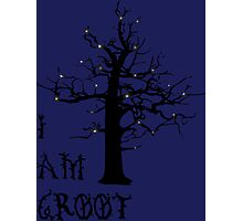 I Am Groot (Glow) Photographic Print