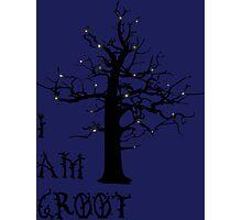 I Am Groot (Glow) Photographic Print