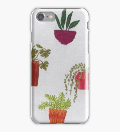 Embroidered Pots 1 iPhone Case/Skin
