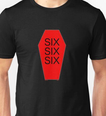 SIX SIX SIX Unisex T-Shirt