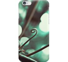 Curled Green iPhone Case/Skin