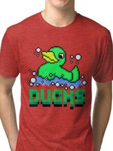 Bubblin' like Im Coach Bombay - Triple Deke Pixels Tri-blend T-Shirt