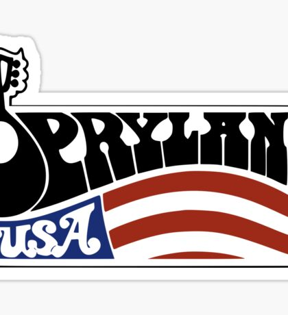 Opryland Flag 2 Sticker