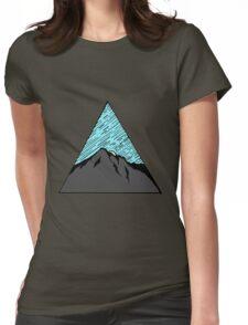 Light Night Sky Womens Fitted T-Shirt