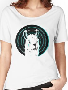 Llama Smile Women's Relaxed Fit T-Shirt