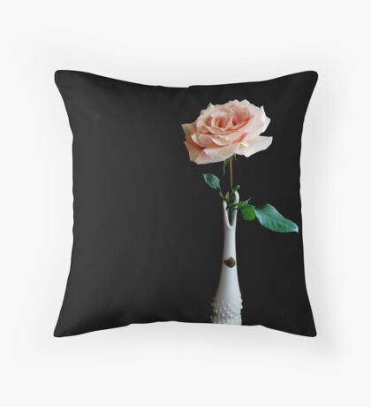 Fenton And A Rose Throw Pillow