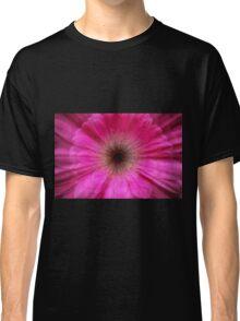 Pink bursting Gerber Daisy photograph  Classic T-Shirt