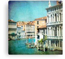 The Grand Lady - Venice Metal Print