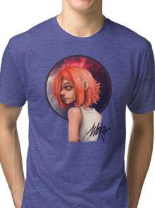 Wonky - Galaxy Girl Tri-blend T-Shirt