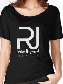 RJ Designs Logo - White Women's Relaxed Fit T-Shirt