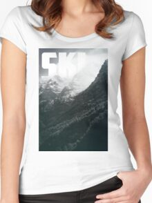 SKI Women's Fitted Scoop T-Shirt