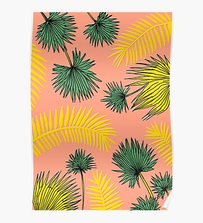 Tumblr Tropical Pattern Poster