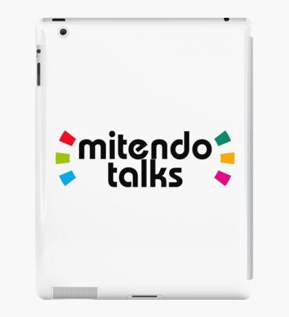 MitendoTalks - Amiibo Style (Black) iPad Case/Skin