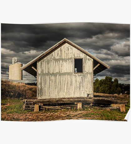 Storm Approaching - Merriwa, New South Wales Poster