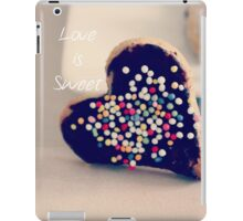 Love is Sweet - JUSTART ©  iPad Case/Skin