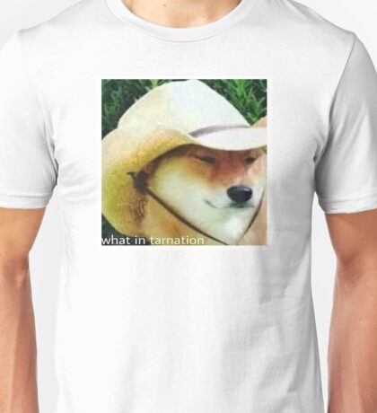 What In Tarnation - Doge Meme Unisex T-Shirt