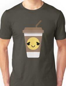 Coffee Cup Emoji Pretty Please Unisex T-Shirt