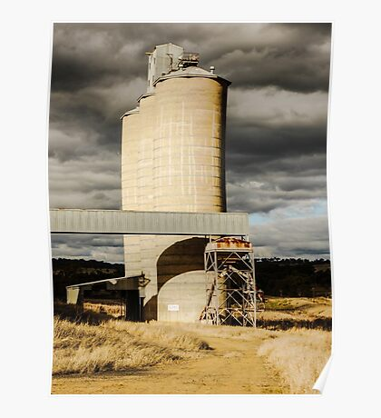Forgotten Silos - Merriwa, New South Wales Poster