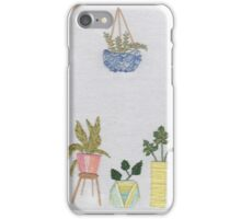 Embroidered Pots 2 iPhone Case/Skin