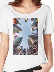 Times Square Women's Relaxed Fit T-Shirt