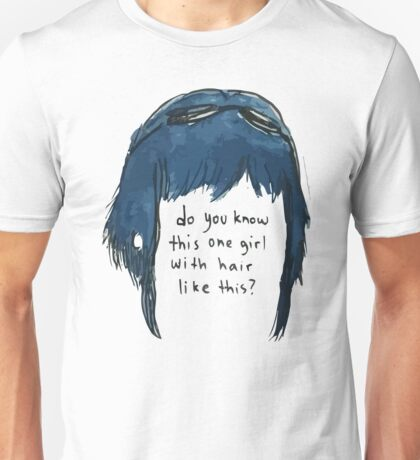 Scott Pilgrim Ramona Hair Unisex T-Shirt