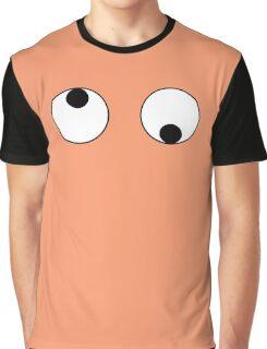 Monogatari Series Yotsugi Ononoki Googly Eyes Graphic T-Shirt