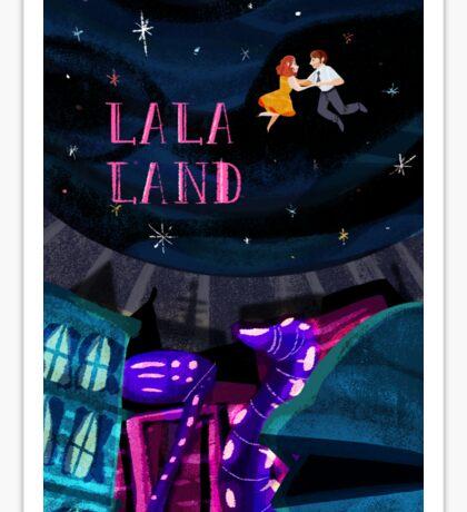 La La Land Sticker