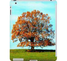 Tree in autumn colours iPad Case/Skin
