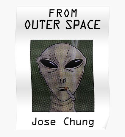 Jose Chung's From Outer Space Poster