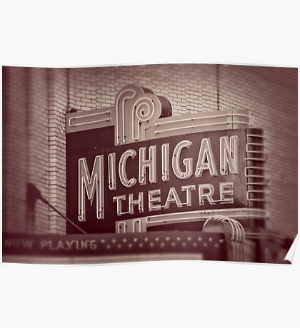 Michigan Theatre Poster