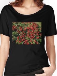 Bed of Reds Women's Relaxed Fit T-Shirt