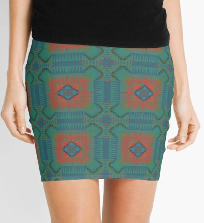 Patches of Culture Mini Skirt